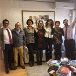 La alegría de autoridades, dirigentes y equipo ministerial