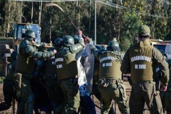 ANDIME Nacional rechaza irracional ataque con bombas lacrimógenas perpetrado por Fuerzas Especiales en Escuela de Temucuicui