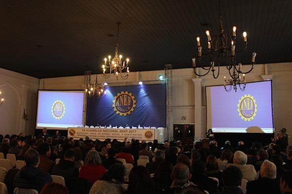 ANDIME se hace presente en la XX Asamblea Nacional ordinaria de ANEF
