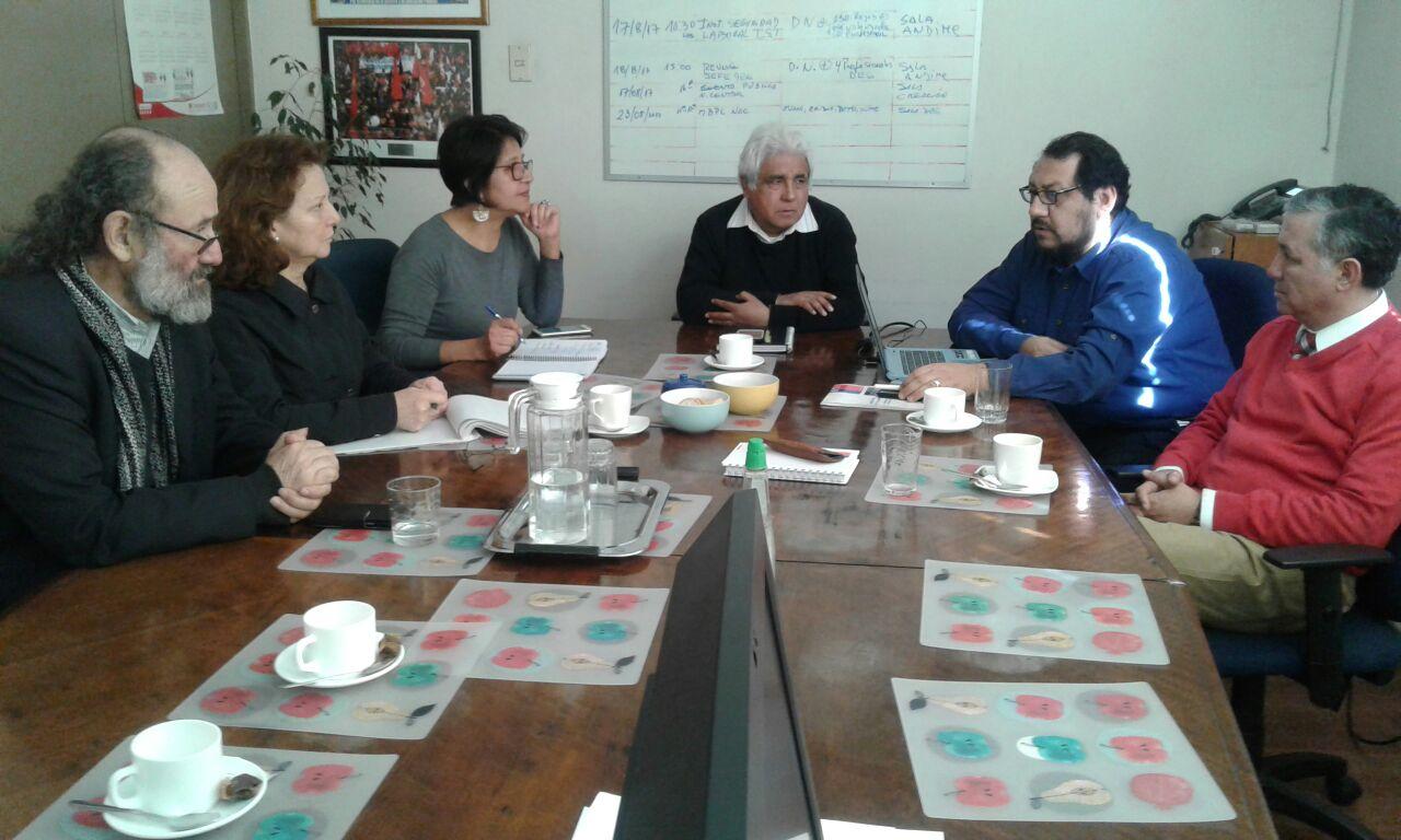 ANDIME Nacional sostiene reunión con profesionales del ISL