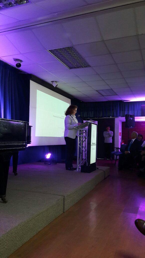 Dirigenta nacional de ANDIME interviene en ceremonia aniversario del CPEIP
