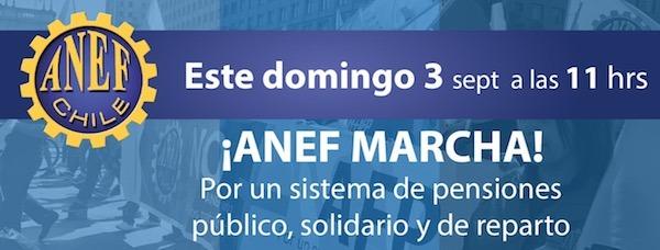 ANDIME se suma a la convocatoria a la marcha nacional de mañana por NO + AFP
