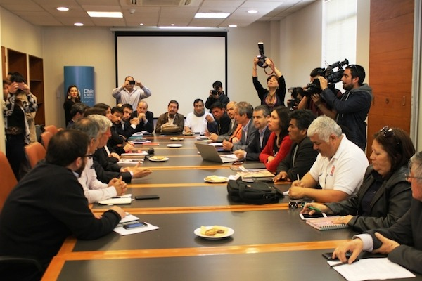 ANEF, MSP-CUT y Gobierno comienzan proceso de negociación por el reajuste general
