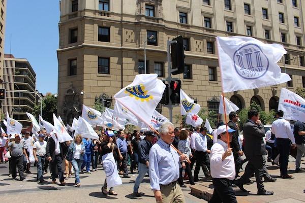 Con Activa presencia de ANDIME, ANEF participa de Protesta y Movilización Nacional de la MSP-CUT