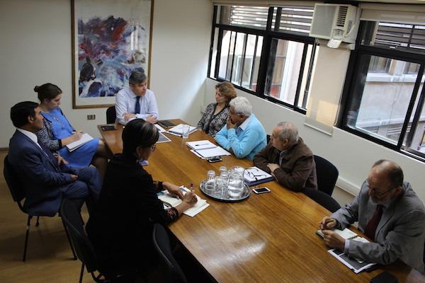 Directorio Nacional sostiene reunión con nuevo Jefe DEG