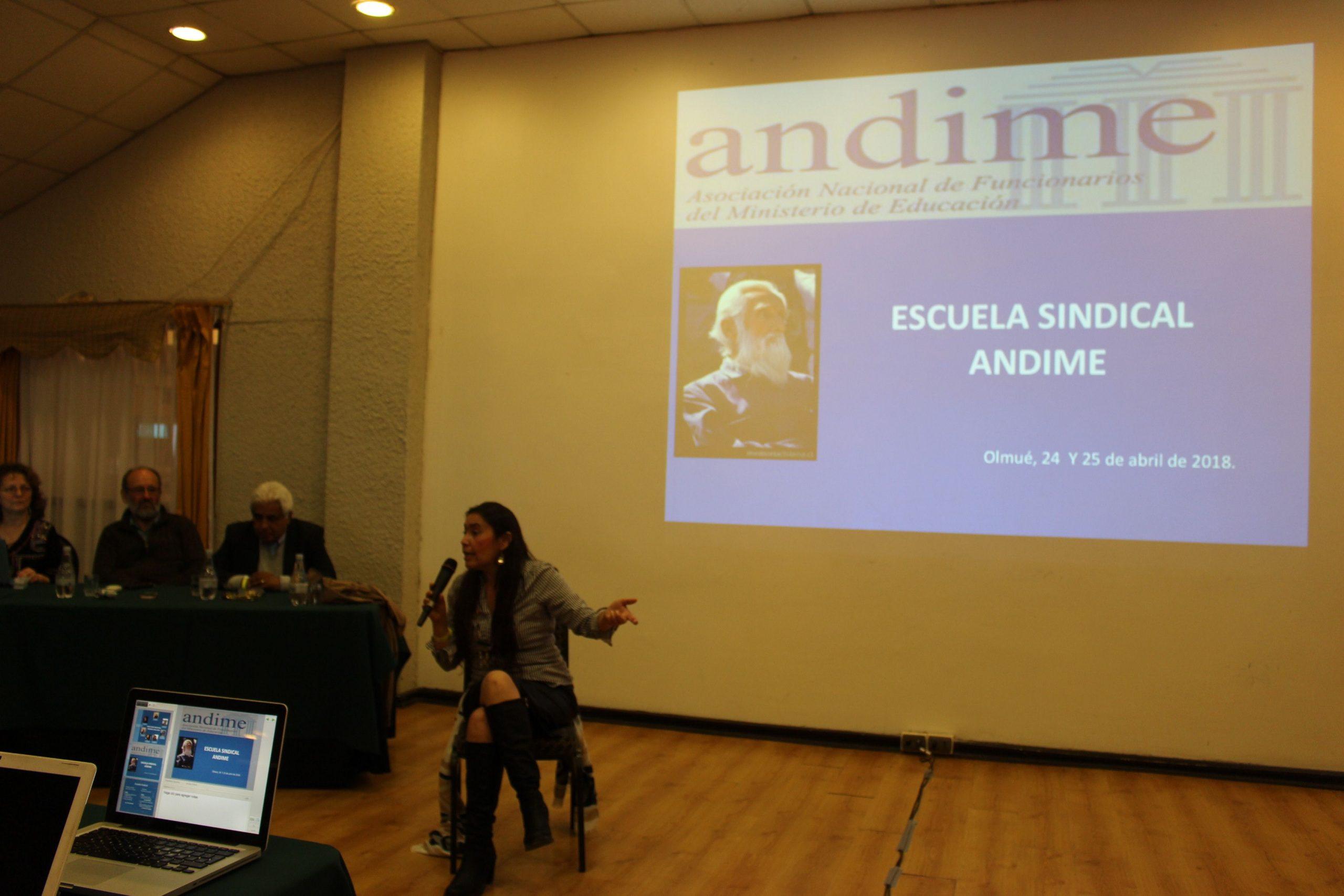 Asamblea Nacional se inicia con Escuela Sindical a cargo de la abogada Ana Fullerton