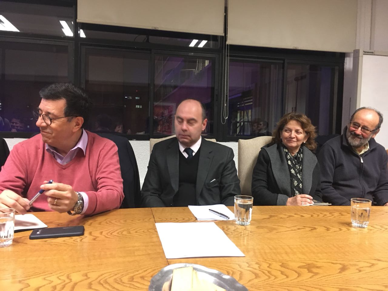 Representantes de FENAEDUP sostienen reunión de trabajo con autoridad ministerial