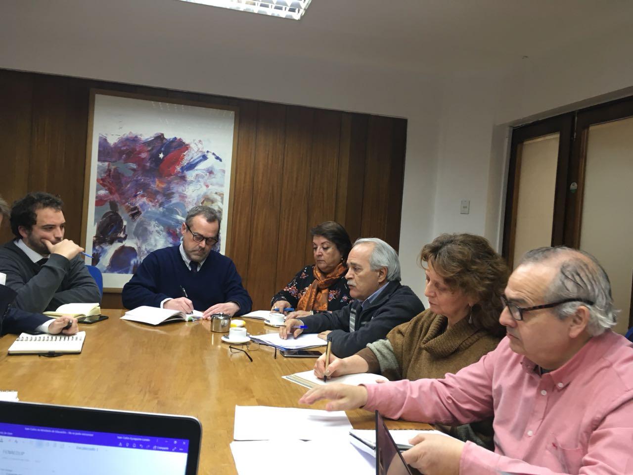 FENAEDUP desarrolla reunión de trabajo con equipo ministerial