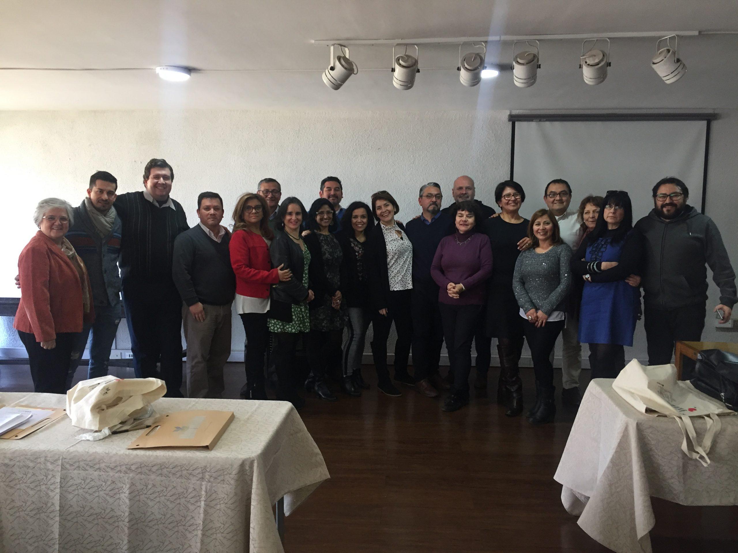 ANDIME Nacional participa de primer encuentro de dirigentes provinciales de Coreme R.M