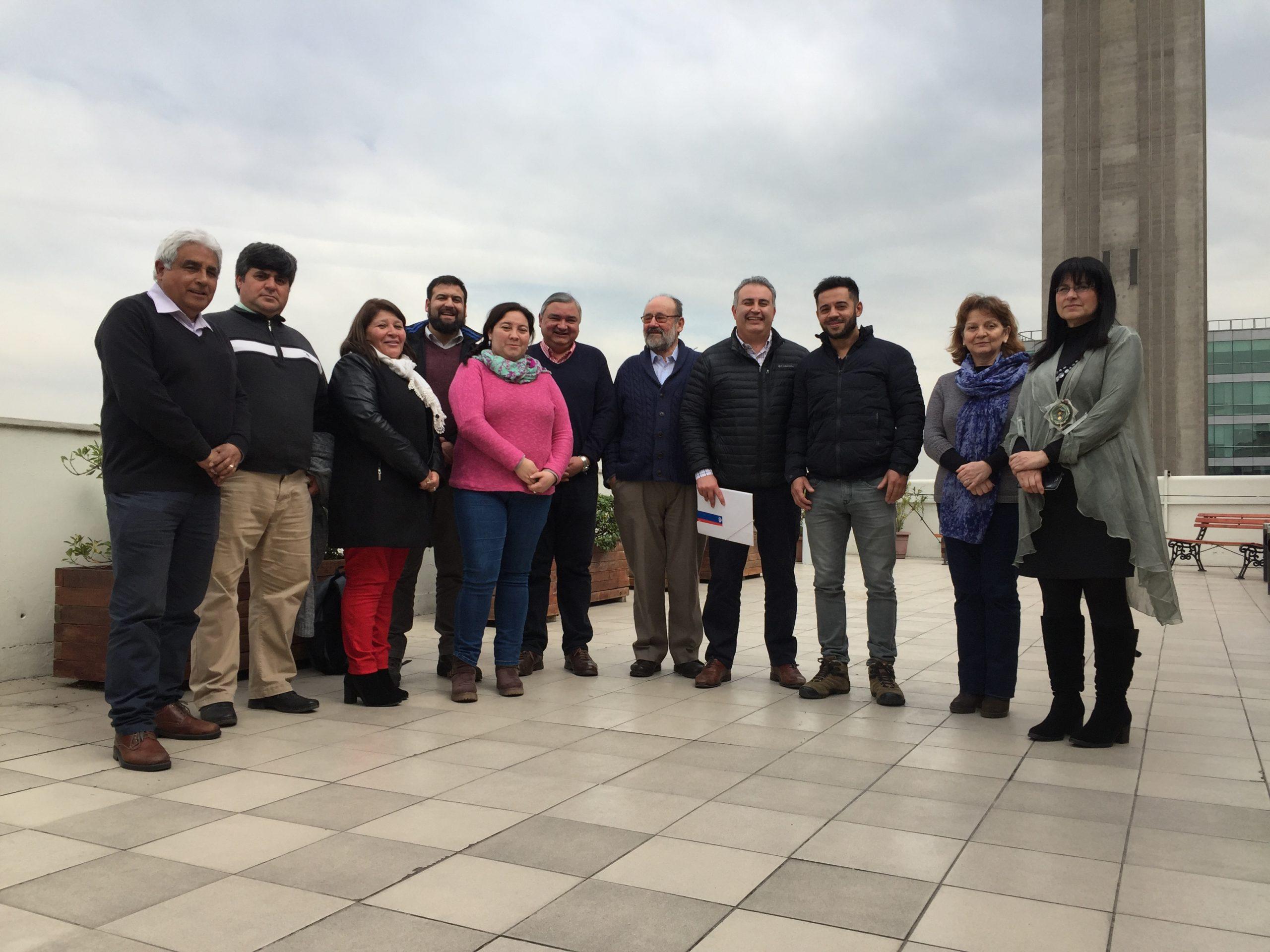 ANDIME Nacional se reúne con Coordinadora Regional O´Higgins a fin de analizar el escenario gremial y sus proyecciones