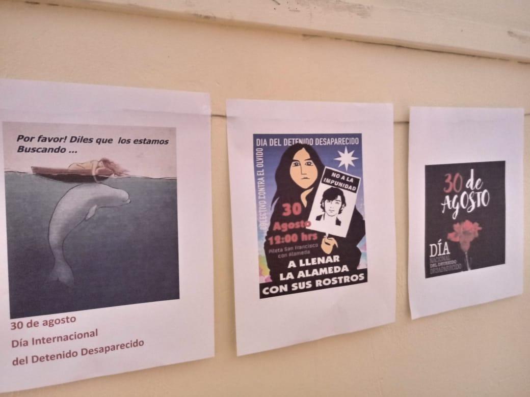 ANDIME Cuarta región realiza actividad por el Día del Detenido Desaparecido