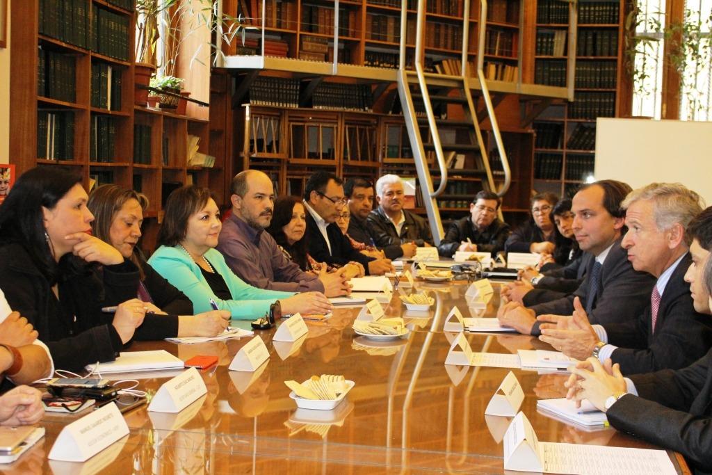 MSP-CUT y Gobierno instalan mesa de negociación por el reajuste general y otras materias