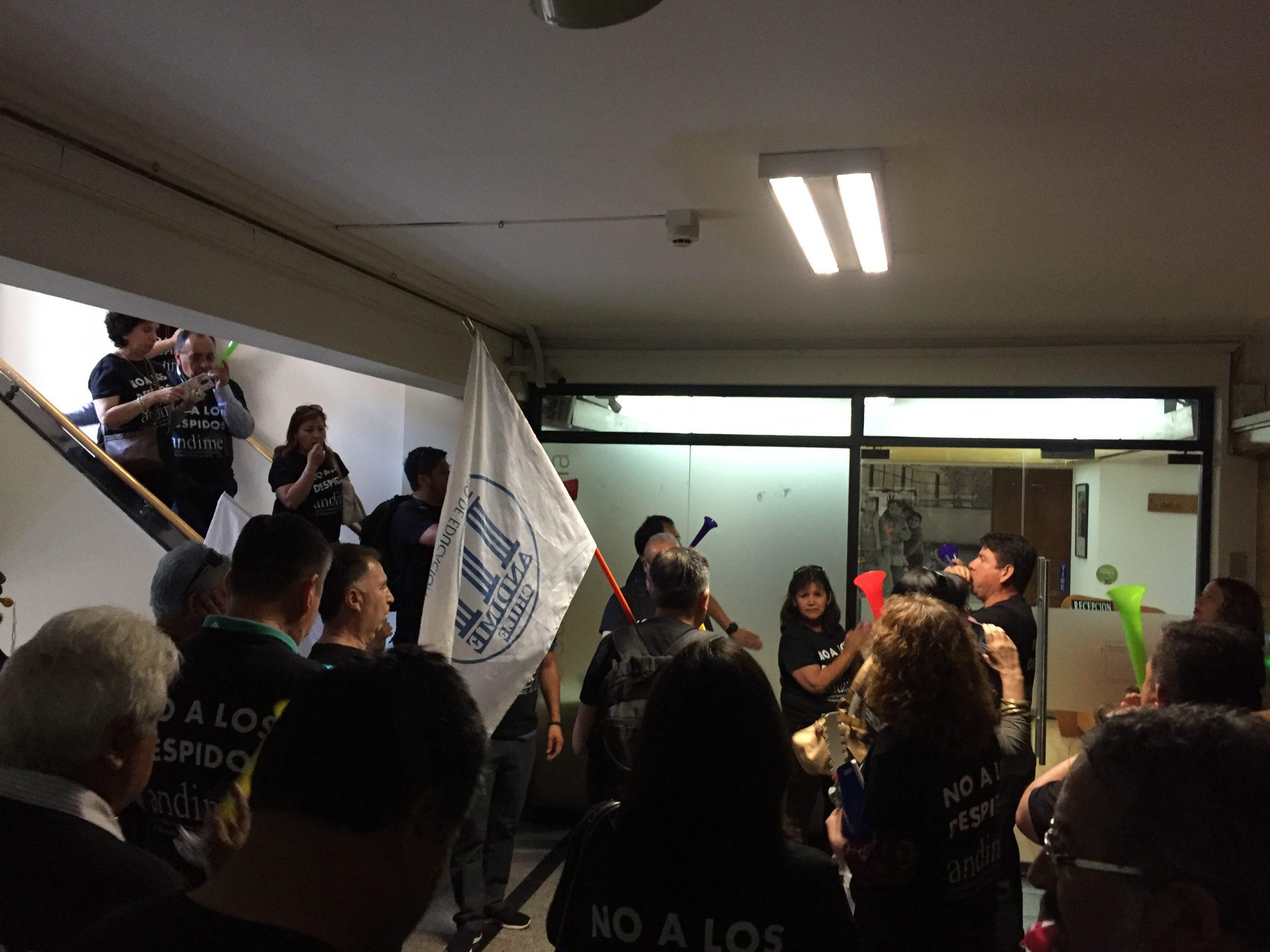 ANDIME informa sobre resultados de jornada de movilización jueves 29 de noviembre