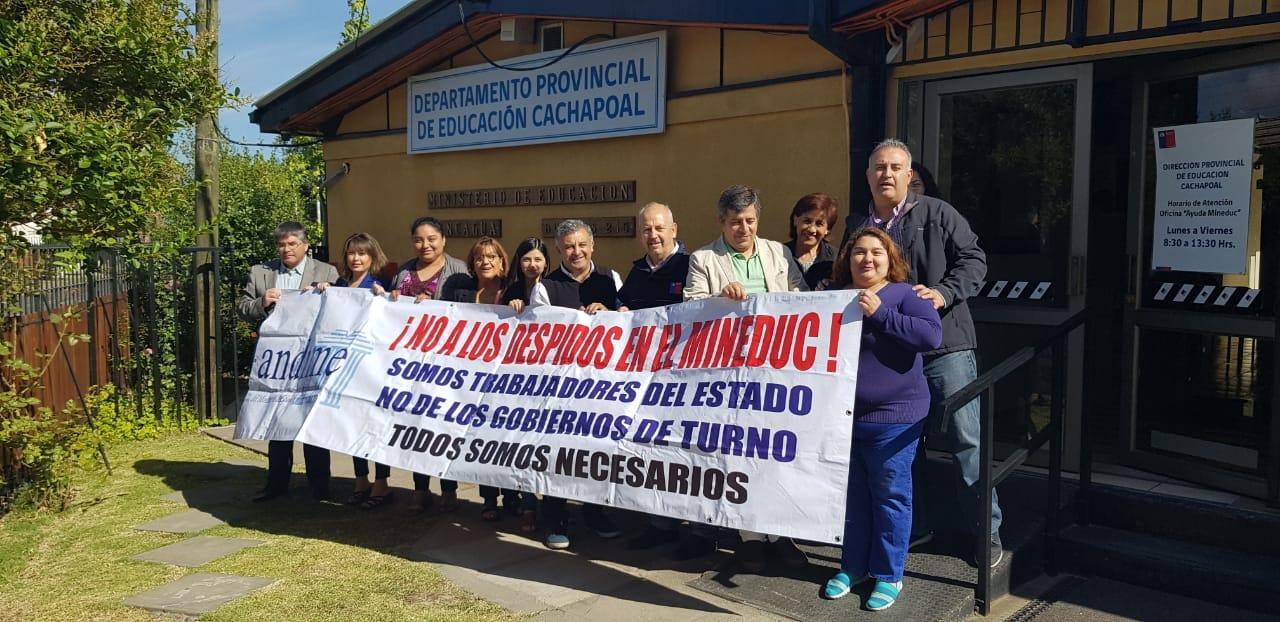 ANDIME inicia una nueva etapa en su lucha por la defensa del empleo público en todo Chile
