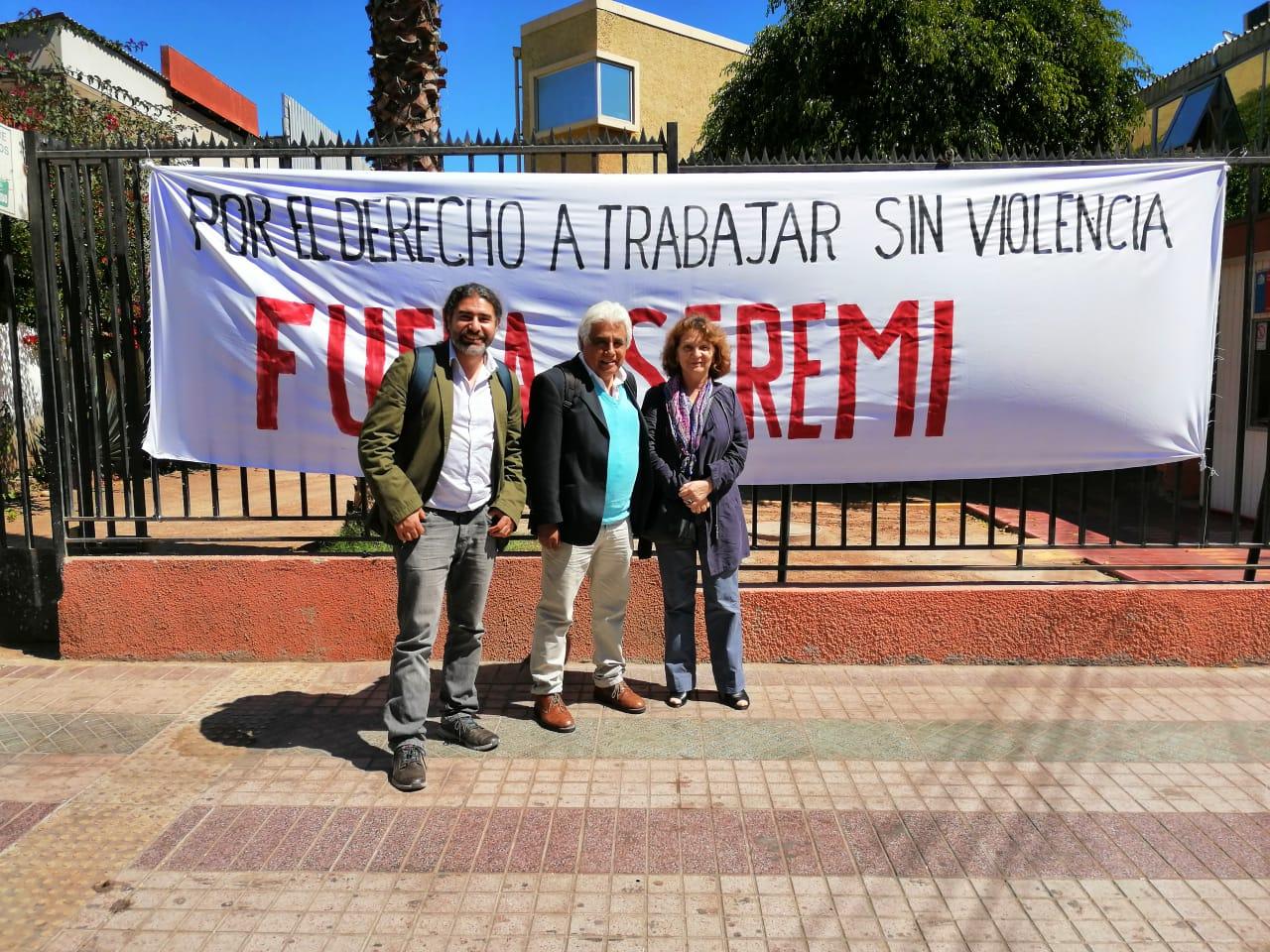 SEREMI de Atacama presenta su renuncia tras movilización de ANDIME Provincial y regional y acción del Directorio Nacional