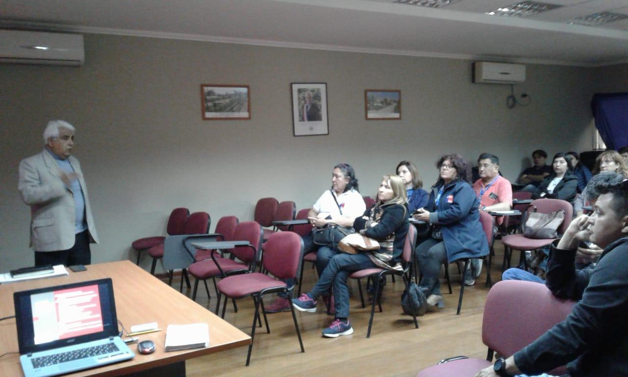 Directorio Nacional de ANDIME visita Secreduc y Deprov Arica-Parinacota desarrollando intensa agenda gremial