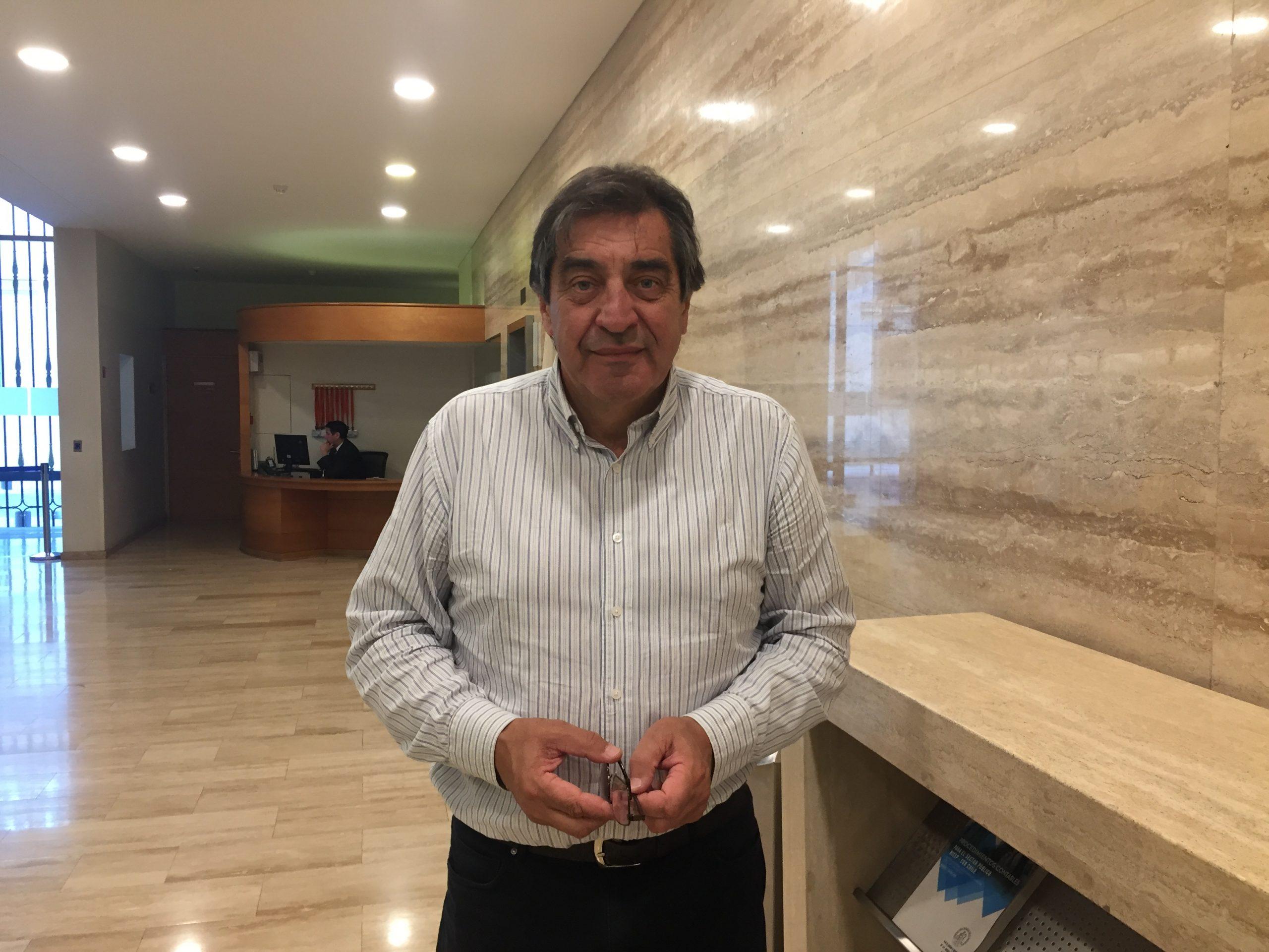 Hugo Godoy, Secretario General de ATE, conversa con ANDIME