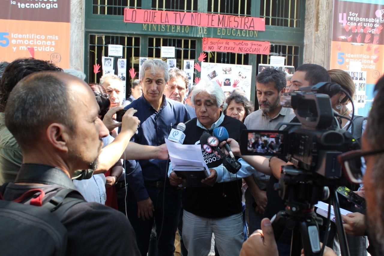 ANDIME junto a ANEF, Colegio de Profesores y FENAEDUP rechazan realización de SIMCE y emplazan a la Ministra a condenar brutal represión policial contra niños y jóvenes en manifestaciones