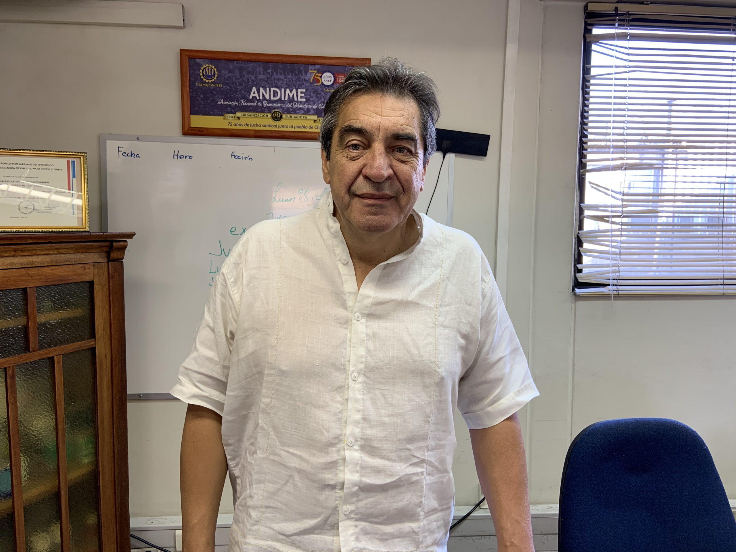 """Hugo Godoy de visita en ANDIME: """"Los males de la democracia se resuelven con más democracia, no con más represión"""""""