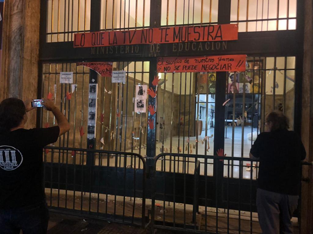 ANDIME denuncia persecución a Dirigentes en regiones y vandalismo y destrucción de mural memorial instalado en el Nivel Central