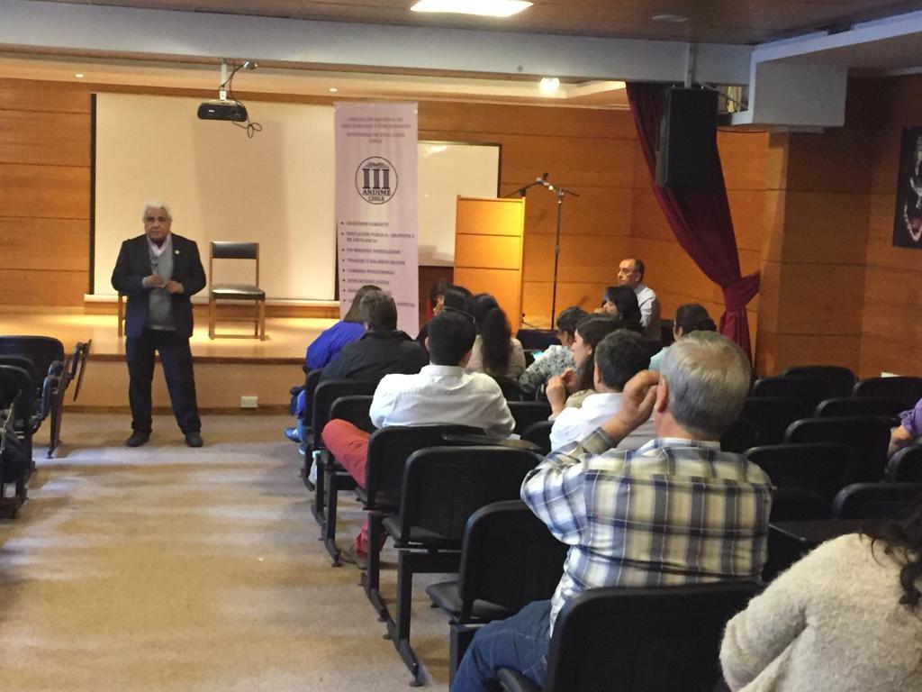 ANDIME Nacional desarrolla intensa agenda gremial en decimocuarta y novena regiones