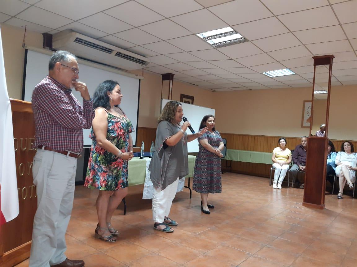ANDIME Secreduc Quinta Región realiza emotivo homenaje a socios que pasan a retiro
