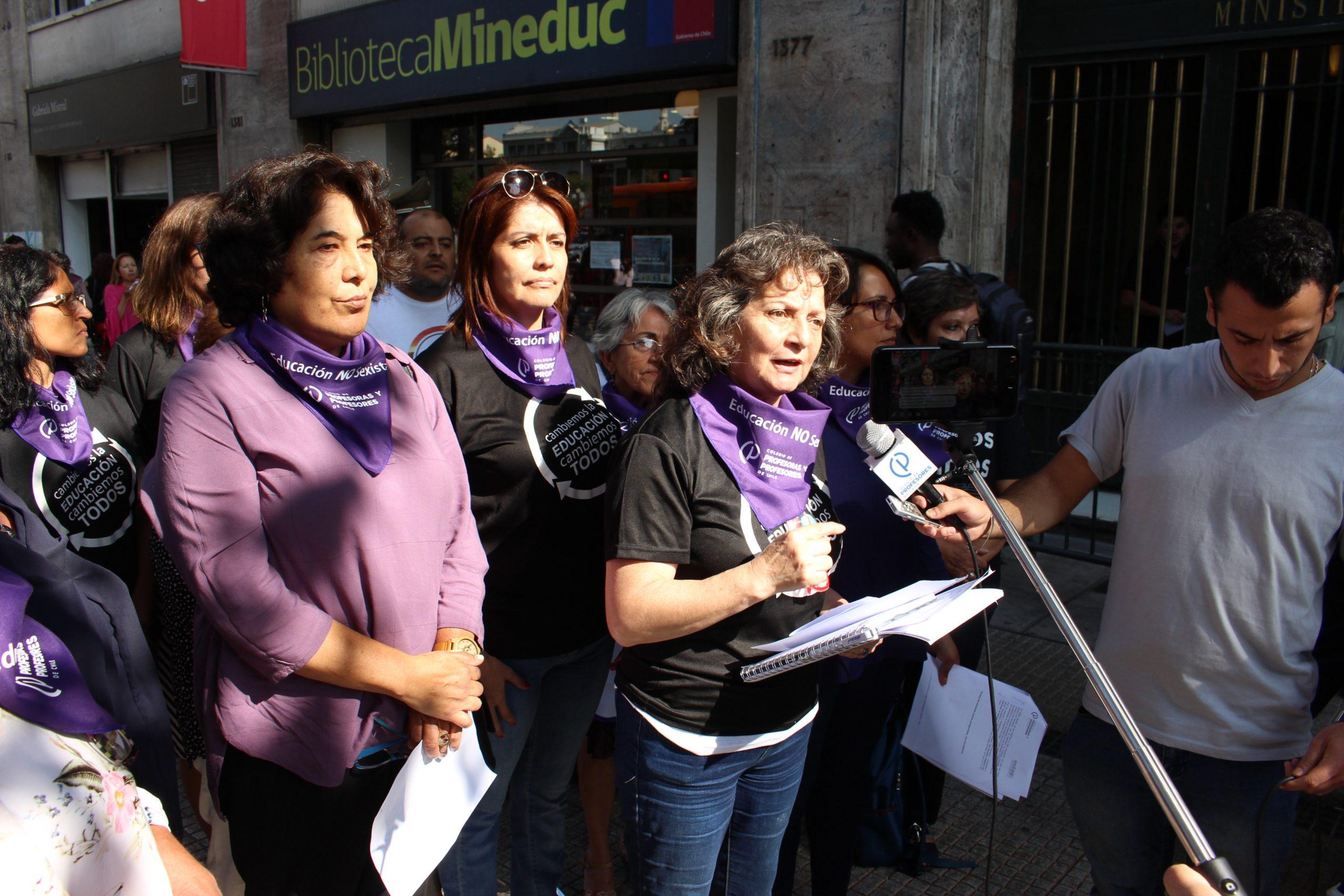 Carta de despedida de Juana Fuentealba Valenzuela como secretaria nacional de Andime