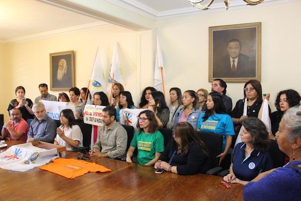 Con presencia de ANDIME, trabajadores/as de Educación Inicial exigen rechazo de proyecto de subvenciones para el sector y llaman a movilizaciones para la próxima semana