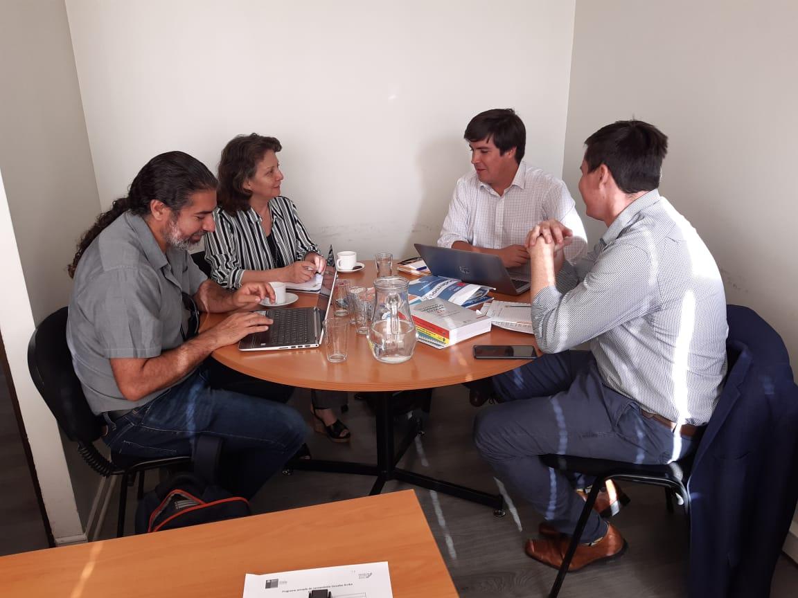 Dirigentes Nacionales de ANDIME sostienen reunión con Encargado de apoyo a la Mejora