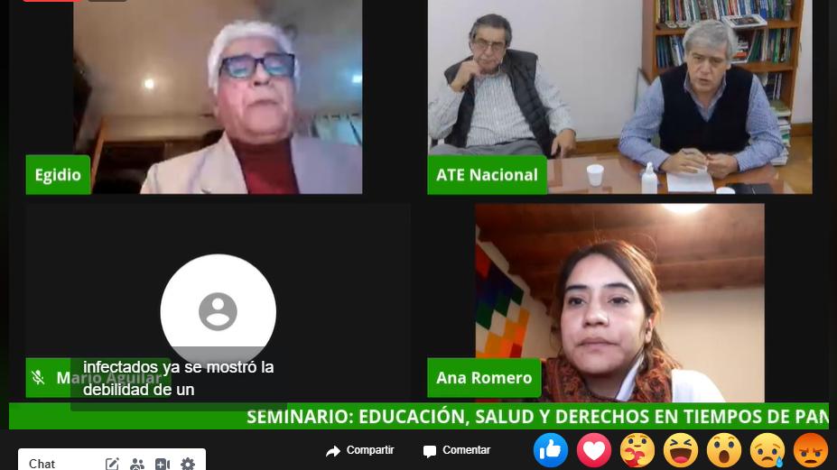 Video| SEMINARIO «EDUCACIÓN, SALUD Y DERECHOS EN TIEMPOS DE PANDEMIA EN AMÉRICA LATINA»