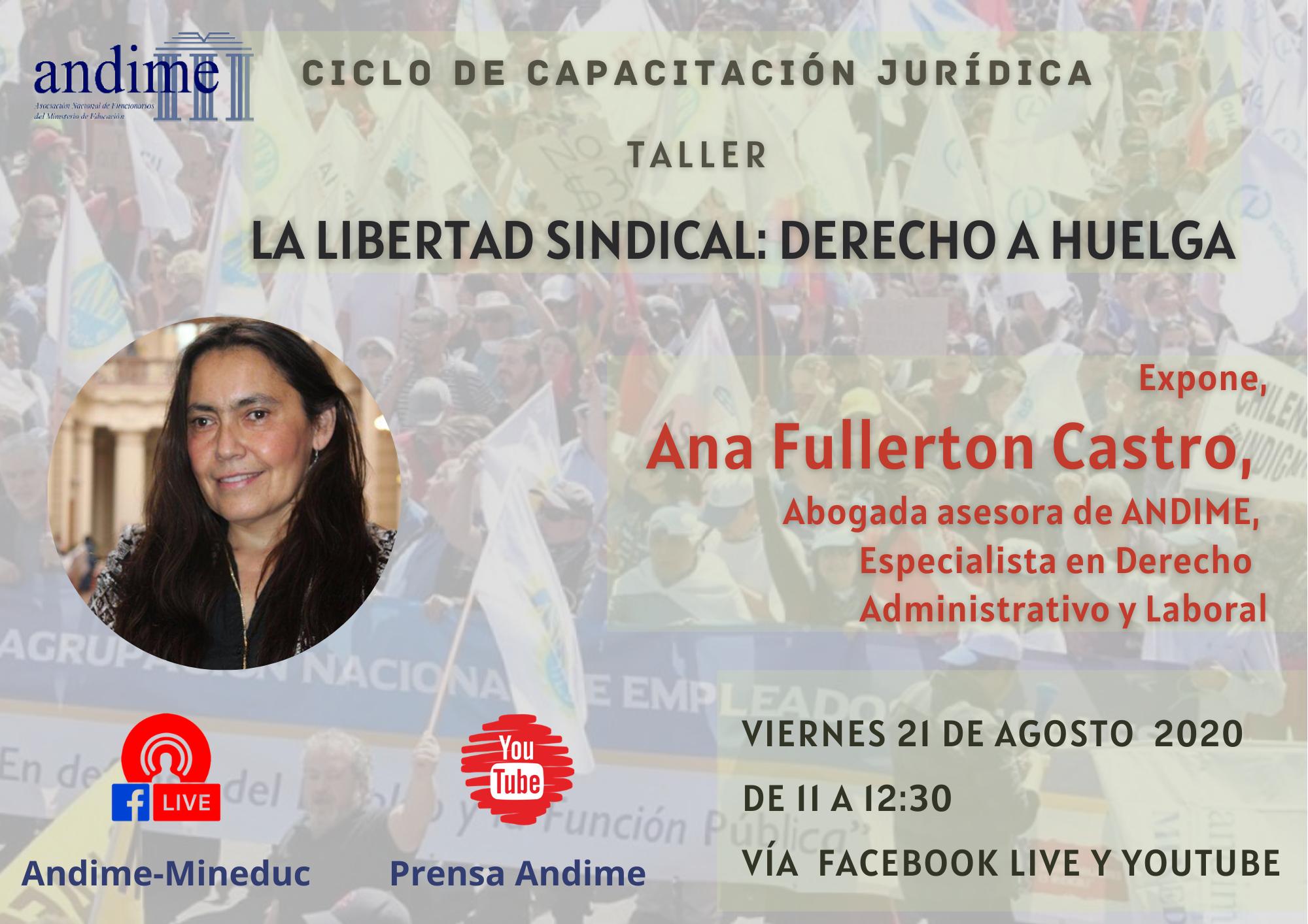 """Nueva capacitación jurídica:                             """"Libertad Sindical: Derecho a Huelga"""""""