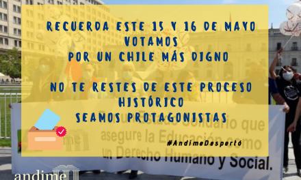 Andime llama a votar en las históricas elecciones del 15 y 16 de mayo