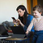 será ley proyecto sobre trabajo a distancia para cuidado de niños y niñas en caso de pandemia