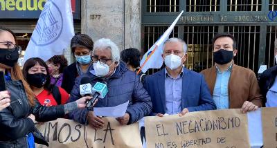 Organizaciones de la Educación exigieron renuncia de Seremi de Atacama