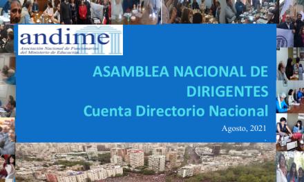 Cuenta pública asamblea agosto 2021